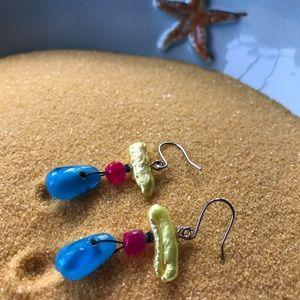 Chico's Wire Style Pierced Earrings